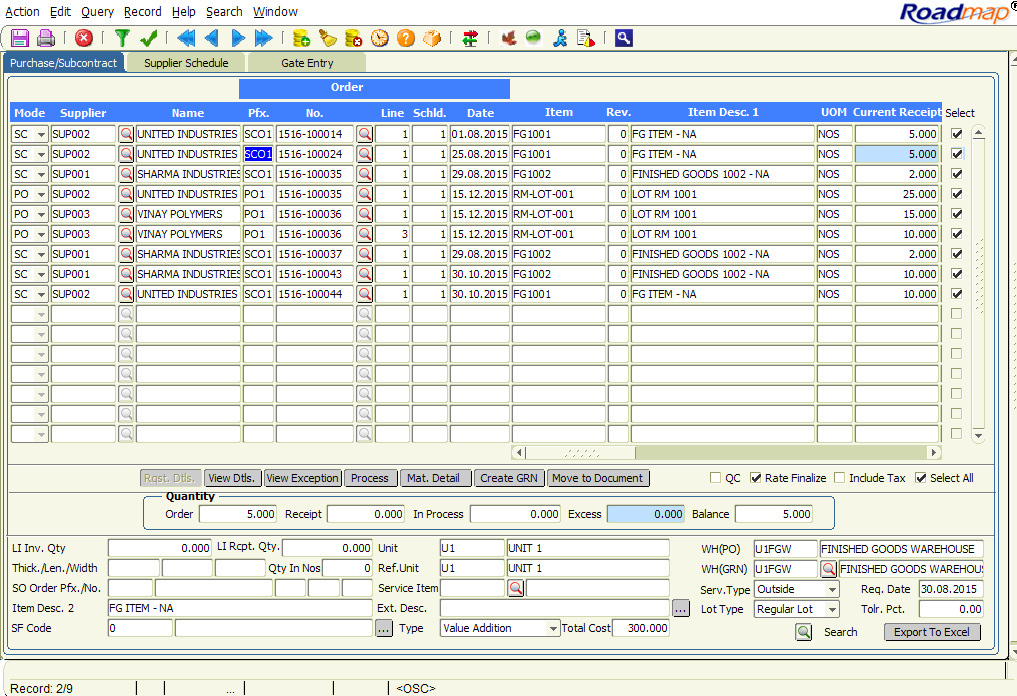 are you tired of making continuous purchase receipts manually